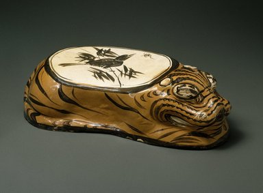 Brooklyn Museum: Cizhou Ware Pillow in the Form of a Tiger