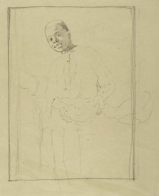 Brooklyn Museum: Study for I Know'd It Was Ripe