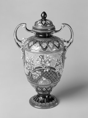 Brooklyn Museum: Vase with lid, model 7756