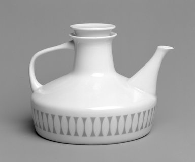 Brooklyn Museum: Teapot and Lid, Contempri Design, Eclipse Pattern