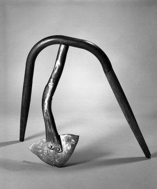 Lawrence Fane (American, 1933-2008). Stonington, 1992. Welded steel, wood, polychrome, 39 x 45 x 21in. (99.1 x 114.3 x 53.3cm). Brooklyn Museum, Gift of Bernard and Ninon Chaet, 1994.66. © Estate of Lawrence Fane