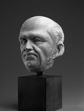 Brooklyn Museum: Head of an Ascetic