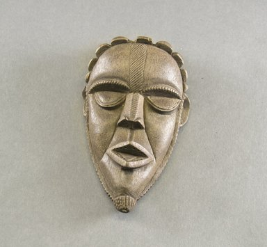 Bassa. Personal Miniature Mask, 20th century. Wood, 6 3/4 x 3 7/8 x 2in. (17.1 x 9.8 x 5.1cm). Brooklyn Museum, Gift of Blake Robinson, 1995.7.80. Creative Commons-BY