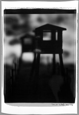 David Levinthal (American, born 1949). Untitled, from Mein Kampf series, 1993-1994. Dye diffusion photograph (Polaroid) Brooklyn Museum, Gift of Michael Levinthal, 1995.79.3. © David Levinthal