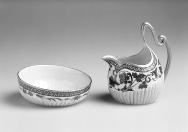 Brooklyn Museum: Sugar Bowl from Creamer and Sugar Bowl