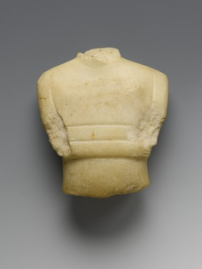 Brooklyn Museum: Fragment of a Female Figurine
