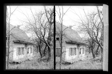 Daniel Berry Austin (American, born 1863, active 1899-1909). Judge J. Lott's House, 47th Street and New Utrecht Road, Brooklyn, ca. 1899-1909. Gelatin silver glass dry plate negative Brooklyn Museum, Brooklyn Museum/Brooklyn Public Library, Brooklyn Collection, 1996.164.1-149