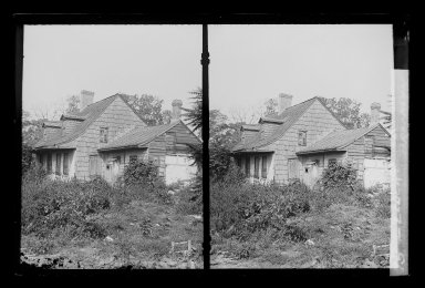 Daniel Berry Austin (American, born 1863, active 1899-1909). L. Eldert House, Eldert Lane near Atlantic Avenue, Brooklyn, ca. 1907. Gelatin silver glass dry plate negative Brooklyn Museum, Brooklyn Museum/Brooklyn Public Library, Brooklyn Collection, 1996.164.1-15