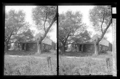 Daniel Berry Austin (American, born 1863, active 1899-1909). Farm, Looking North, Old South Country Road, East of Jewish Cemetery, Brooklyn, ca. 1907. Gelatin silver glass dry plate negative Brooklyn Museum, Brooklyn Museum/Brooklyn Public Library, Brooklyn Collection, 1996.164.1-18