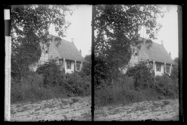 Brooklyn Museum: DeNyse Van Dyne House, Front Gable West, New Utrecht Road, 19th and 17th and 18th Avenues, Brooklyn