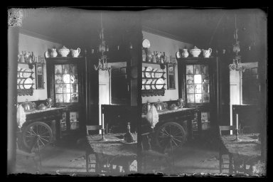 Brooklyn Museum: Rem Lefferts House, Interior, Fulton Street opposite Arlington Place near Bedford, Brooklyn