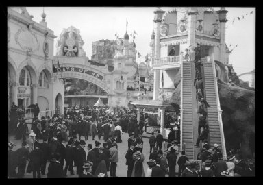 Brooklyn Museum: Luna Park, Coney Island