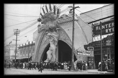 Entrance to Dreamland, Coney Island