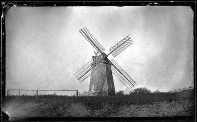 George Bradford Brainerd (American, 1845-1887). Windmill, Southampton, Long Island, ca. 1872-1887. Collodion silver glass wet plate negative Brooklyn Museum, Brooklyn Museum/Brooklyn Public Library, Brooklyn Collection, 1996.164.2-102