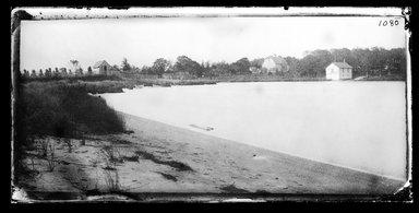 George Bradford Brainerd (American, 1845-1887). Creek at Mattituck, Long Island, October 1878. Collodion silver glass wet plate negative Brooklyn Museum, Brooklyn Museum/Brooklyn Public Library, Brooklyn Collection, 1996.164.2-1080