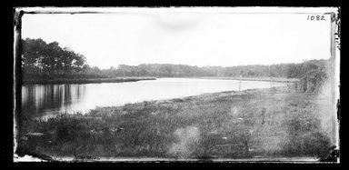 George Bradford Brainerd (American, 1845-1887). Creek at Mattituck, Long Island, ca. 1872-1887. Collodion silver glass wet plate negative Brooklyn Museum, Brooklyn Museum/Brooklyn Public Library, Brooklyn Collection, 1996.164.2-1082