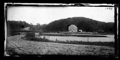 George Bradford Brainerd (American, 1845-1887). Mill on Inlet, Mattituck, Long Island, October 1878. Collodion silver glass wet plate negative Brooklyn Museum, Brooklyn Museum/Brooklyn Public Library, Brooklyn Collection, 1996.164.2-1084