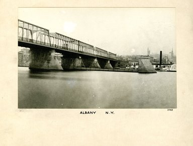George Bradford Brainerd (American, 1845-1887). Albany and the Bridge, September 1876. Collodion silver glass wet plate negative Brooklyn Museum, Brooklyn Museum/Brooklyn Public Library, Brooklyn Collection, 1996.164.2-1140