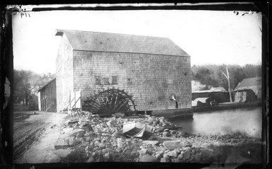 George Bradford Brainerd (American, 1845-1887). Tide Mill, Huntington, Long Island, ca. 1872-1887. Collodion silver glass wet plate negative Brooklyn Museum, Brooklyn Museum/Brooklyn Public Library, Brooklyn Collection, 1996.164.2-119
