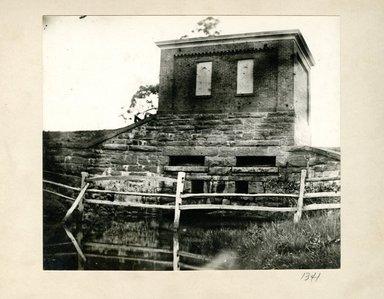 George Bradford Brainerd (American, 1845-1887). Waste Water, Hempstead Pond, Long Island, April 3, 1874. Collodion silver glass wet plate negative Brooklyn Museum, Brooklyn Museum/Brooklyn Public Library, Brooklyn Collection, 1996.164.2-1341