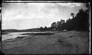 George Bradford Brainerd (American, 1845-1887). West Shore, Centerport, Long Island, ca. 1872-1887. Collodion silver glass wet plate negative Brooklyn Museum, Brooklyn Museum/Brooklyn Public Library, Brooklyn Collection, 1996.164.2-137