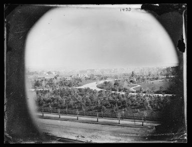 George Bradford Brainerd (American, 1845-1887). Prospect Park, South, Brooklyn, November 2, 1873. Collodion silver glass wet plate negative Brooklyn Museum, Brooklyn Museum/Brooklyn Public Library, Brooklyn Collection, 1996.164.2-1433