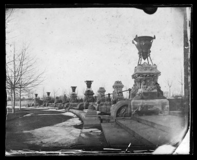 George Bradford Brainerd (American, 1845-1887). Prospect Park, Brooklyn, ca. 1872-1887. Collodion silver glass wet plate negative Brooklyn Museum, Brooklyn Museum/Brooklyn Public Library, Brooklyn Collection, 1996.164.2-1537
