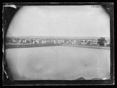 George Bradford Brainerd (American, 1845-1887). From Mountain, Looking East, Prospect Park, Brooklyn, ca. 1872-1887. Collodion silver glass wet plate negative Brooklyn Museum, Brooklyn Museum/Brooklyn Public Library, Brooklyn Collection, 1996.164.2-1543