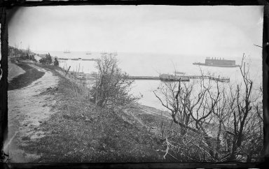 George Bradford Brainerd (American, 1845-1887). Fort Lafayette, Flatbush, Brooklyn, ca. 1872-1887. Collodion silver glass wet plate negative Brooklyn Museum, Brooklyn Museum/Brooklyn Public Library, Brooklyn Collection, 1996.164.2-154