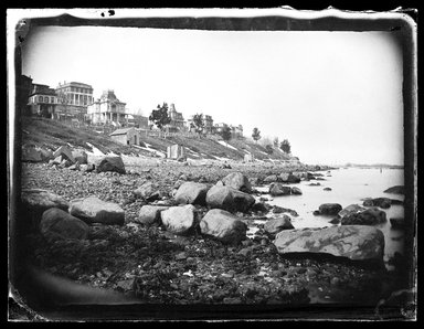 George Bradford Brainerd (American, 1845-1887). New Brighton, Staten Island, ca. 1872-1887. Collodion silver glass wet plate negative Brooklyn Museum, Brooklyn Museum/Brooklyn Public Library, Brooklyn Collection, 1996.164.2-1566