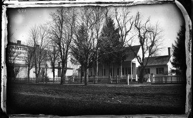 George Bradford Brainerd (American, 1845-1887). John Lott's House, Flatbush, Brooklyn, 1877. Collodion silver glass wet plate negative Brooklyn Museum, Brooklyn Museum/Brooklyn Public Library, Brooklyn Collection, 1996.164.2-170