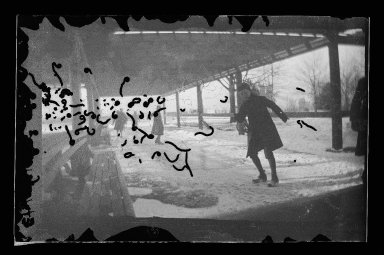 George Bradford Brainerd (American, 1845-1887). Sliding in Fort Green, Brooklyn, ca. 1872-1887. Collodion silver glass wet plate negative Brooklyn Museum, Brooklyn Museum/Brooklyn Public Library, Brooklyn Collection, 1996.164.2-1743