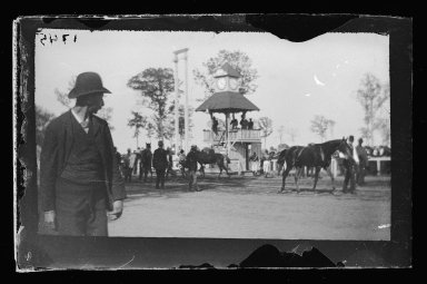 George Bradford Brainerd (American, 1845-1887). Races, Sheepshead Bay, Brooklyn, ca. 1872-1887. Collodion silver glass wet plate negative Brooklyn Museum, Brooklyn Museum/Brooklyn Public Library, Brooklyn Collection, 1996.164.2-1745