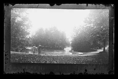 George Bradford Brainerd (American, 1845-1887). Lake, Prospect Park, Brooklyn, ca. 1872-1887. Collodion silver glass wet plate negative Brooklyn Museum, Brooklyn Museum/Brooklyn Public Library, Brooklyn Collection, 1996.164.2-1747