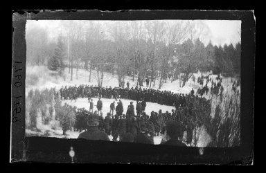 George Bradford Brainerd (American, 1845-1887). Skating Pond Rink, Prospect Park, Brooklyn, February 1885. Collodion silver glass wet plate negative Brooklyn Museum, Brooklyn Museum/Brooklyn Public Library, Brooklyn Collection, 1996.164.2-1760