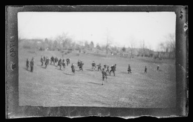 Brooklyn Museum: Football at Fort Greene, Brooklyn