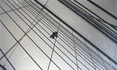 George Bradford Brainerd (American, 1845-1887). On Bridge (Painter), Brooklyn, NY, ca. 1872-1887. Glass plate negative, 2 1/8 x 3 1/4 in. (5.4 x 8.3 cm). Brooklyn Museum, Brooklyn Museum/Brooklyn Public Library, Brooklyn Collection, 1996.164.2-1803