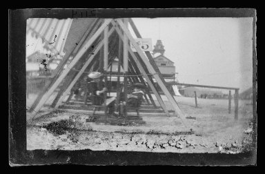George Bradford Brainerd (American, 1845-1887). Swings, Coney Island, Brooklyn, ca. 1885. Dry negative plate Brooklyn Museum, Brooklyn Museum/Brooklyn Public Library, Brooklyn Collection, 1996.164.2-2114