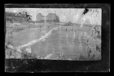 George Bradford Brainerd (American, 1845-1887). Manhattan Beach, Coney Island, Brooklyn, ca. 1872-1887. Dry negative plate Brooklyn Museum, Brooklyn Museum/Brooklyn Public Library, Brooklyn Collection, 1996.164.2-2122