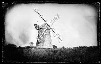 George Bradford Brainerd (American, 1845-1887). Windmill, Hayground, Long Island, 1879. Collodion silver glass wet plate negative Brooklyn Museum, Brooklyn Museum/Brooklyn Public Library, Brooklyn Collection, 1996.164.2-234