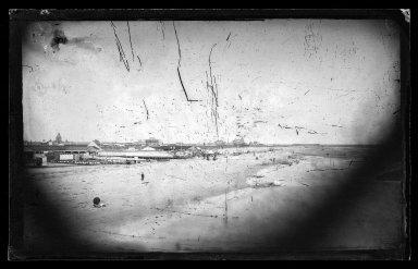 George Bradford Brainerd (American, 1845-1887). East from Iron Pier, Coney Island, Brooklyn, ca. 1872-1887. Collodion silver glass wet plate negative Brooklyn Museum, Brooklyn Museum/Brooklyn Public Library, Brooklyn Collection, 1996.164.2-274