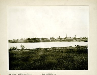 George Bradford Brainerd (American, 1845-1887). View from North Haven, Sag Harbor, Long Island, ca. 1872-1887. Collodion silver glass wet plate negative Brooklyn Museum, Brooklyn Museum/Brooklyn Public Library, Brooklyn Collection, 1996.164.2-369