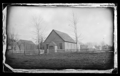 George Bradford Brainerd (American, 1845-1887). First Baptist Church, Flatbush, Brooklyn, ca. 1872-1887. Collodion silver glass wet plate negative Brooklyn Museum, Brooklyn Museum/Brooklyn Public Library, Brooklyn Collection, 1996.164.2-419