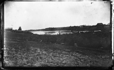 George Bradford Brainerd (American, 1845-1887). Pines Pond, Long Island, ca. 1872-1887. Collodion silver glass wet plate negative Brooklyn Museum, Brooklyn Museum/Brooklyn Public Library, Brooklyn Collection, 1996.164.2-44