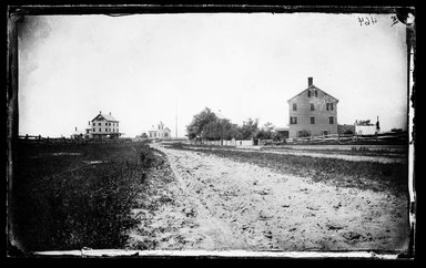 George Bradford Brainerd (American, 1845-1887). Quogue, Long Island, ca. 1872-1887. Collodion silver glass wet plate negative Brooklyn Museum, Brooklyn Museum/Brooklyn Public Library, Brooklyn Collection, 1996.164.2-464