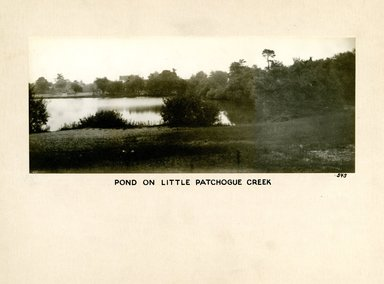Pond on Little, Patchogue Creek, Long Island