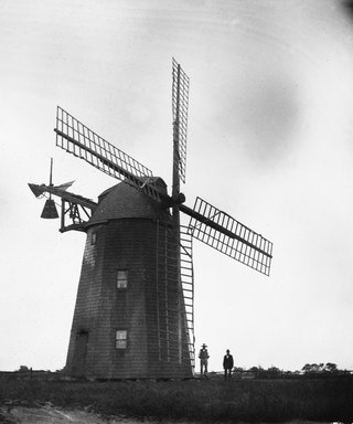 George Bradford Brainerd (American, 1845-1887). Topping's Wind Mill, Hayground, Long Island, August 1878. Collodion silver glass wet plate negative Brooklyn Museum, Brooklyn Museum/Brooklyn Public Library, Brooklyn Collection, 1996.164.2-559