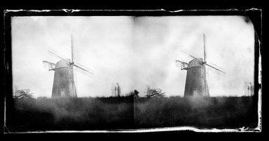 George Bradford Brainerd (American, 1845-1887). Topping's Windmill, Hayground, Long Island, 1878. Collodion silver glass wet plate negative Brooklyn Museum, Brooklyn Museum/Brooklyn Public Library, Brooklyn Collection, 1996.164.2-571