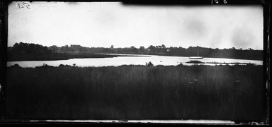 George Bradford Brainerd (American, 1845-1887). Connetquot River at Club House, Long Island, ca. 1872-1887. Collodion silver glass wet plate negative Brooklyn Museum, Brooklyn Museum/Brooklyn Public Library, Brooklyn Collection, 1996.164.2-581