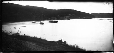 George Bradford Brainerd (American, 1845-1887). Cold Spring Harbor, Long Island, 1878. Collodion silver glass wet plate negative Brooklyn Museum, Brooklyn Museum/Brooklyn Public Library, Brooklyn Collection, 1996.164.2-590